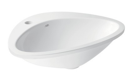 Lavoar Hansgrohe Axor Massaud 58.5cm, montare in blat