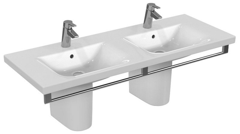 Lavoar dublu Ideal Standard Connect Vanity 130x49cm