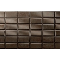 Faianta Diesel living Metal Perf 10x20cm, 8.5mm, Reddish