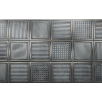 Faianta Diesel living Glass Blocks 20x20cm, 6.5mm, Black