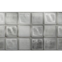 Faianta Diesel living Glass Blocks 20x20cm, 6.5mm, White