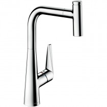 Baterie bucatarie Hansgrohe Talis Select S 300, dus extractibil