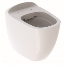 Vas WC Geberit Citterio Rimfree 56cm, back-to-wall, KeraTect alb