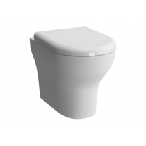 Vas WC Vitra Zentrum back-to-wall, 52cm, pentru rezervor ingropat