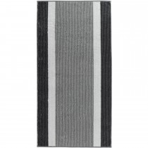 Prosop baie Cawo Regatta Stripes, 70 x 140 cm, Anthracite