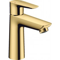 Baterie lavoar Hansgrohe Talis E 110, ventil pop-up, gold optic lustruit