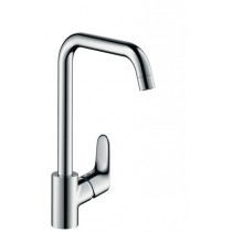 Baterie bucatarie Hansgrohe M411-H260, ComfortZone 260, crom