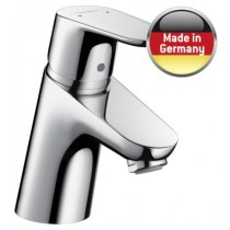 Baterie lavoar Hansgrohe Focus 70, ventil pop-up, crom