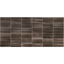Faianta Diesel living Ribbed Oxide 10x20cm, 7mm, Burnish