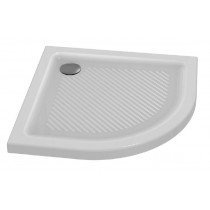 Cadita de dus semirotunda Ideal Standard Connect 80x80 White