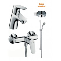 Set baterii Hansgrohe Focus E2 Dus Comfort Set 3in1
