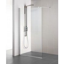 Cabina de dus tip Walk-in Ideal Standard Synergy 80cm, sticla securizata si tratata anticalcar 8mm