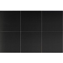 Faianta Diesel living Fence 20x20cm, 7mm, Micro Black