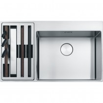 Chiuveta Franke Box Center BWX 220-54-27 stanga, 860x510mm, inox satinat