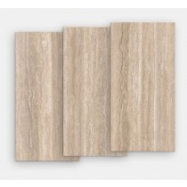 Gresie portelanata rectificata FMG Select 120x60cm, 9mm, Travertino Naturale