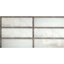 Faianta Diesel living Industrial Glass 60x20cm, 7mm, White