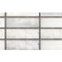 Faianta Diesel living Industrial Glass 10x30cm, 7mm, White