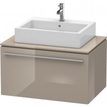 Masca lavoar Duravit X-Large 800x545 mm, 86 Cappuccino High Gloss