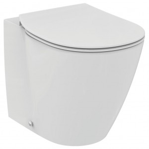 Vas WC Ideal Standard Connect back-to-wall pentru rezervor ingropat