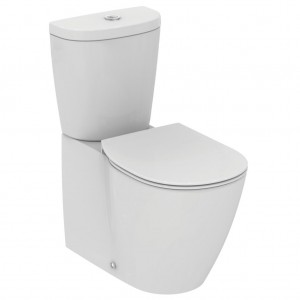Vas WC Ideal Standard Connect back-to-wall, pentru rezervor asezat