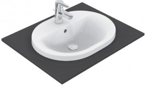 Lavoar Ideal Standard Connect Oval 62x46cm, montare in blat