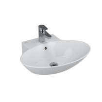 Lavoar Vitra Geo oval 60x49,5cm, VitrAclean